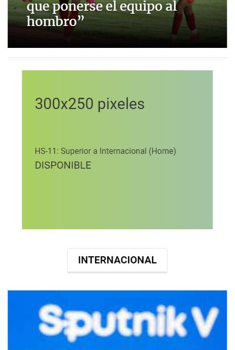HS-11: Superior a Internacional (Home)