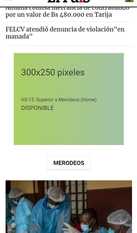 HS-15: Superior a Merodeos (Home)