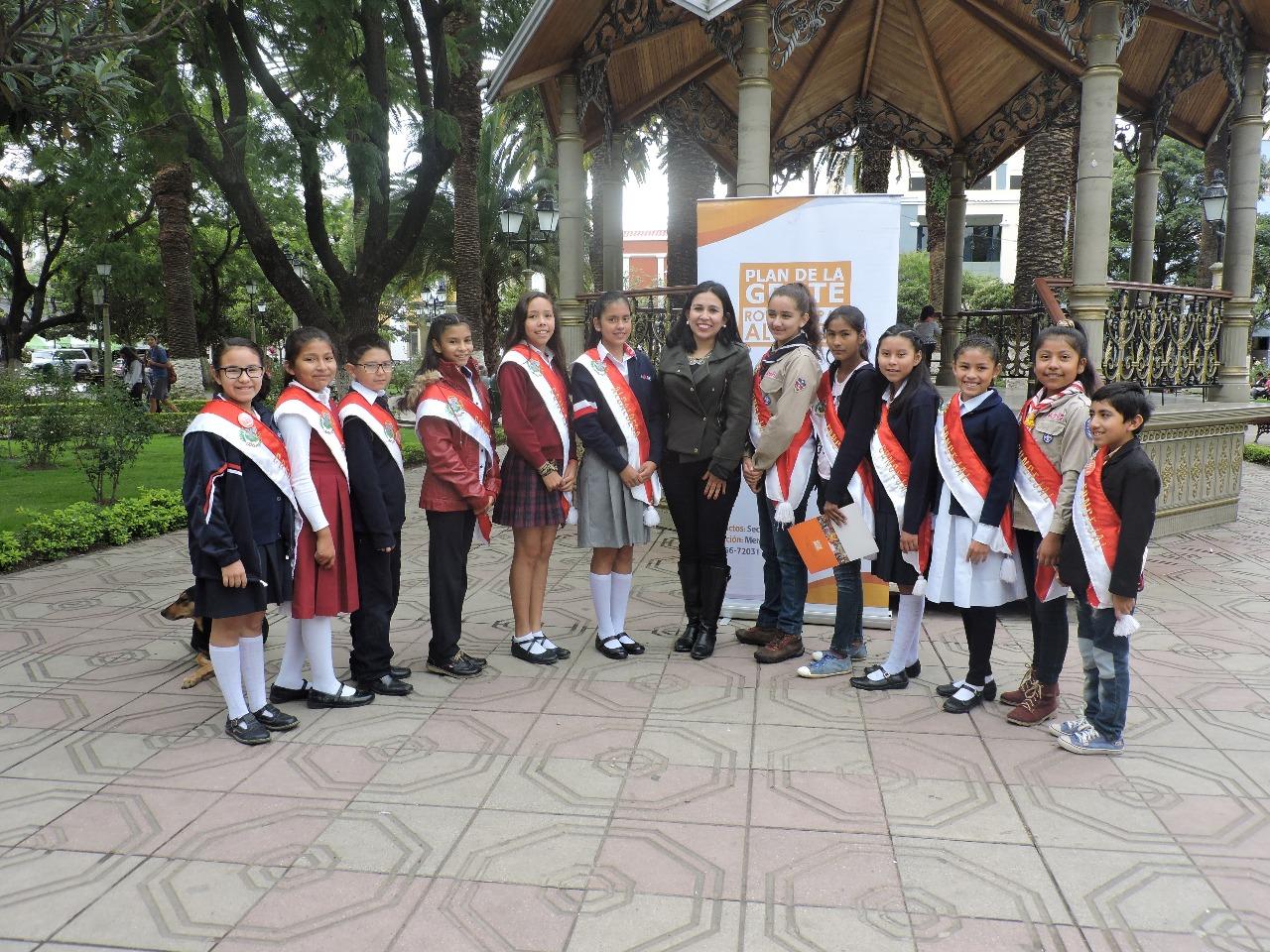 Presentaron la convocatoria para elección de las autoridades infantiles municipales 2018