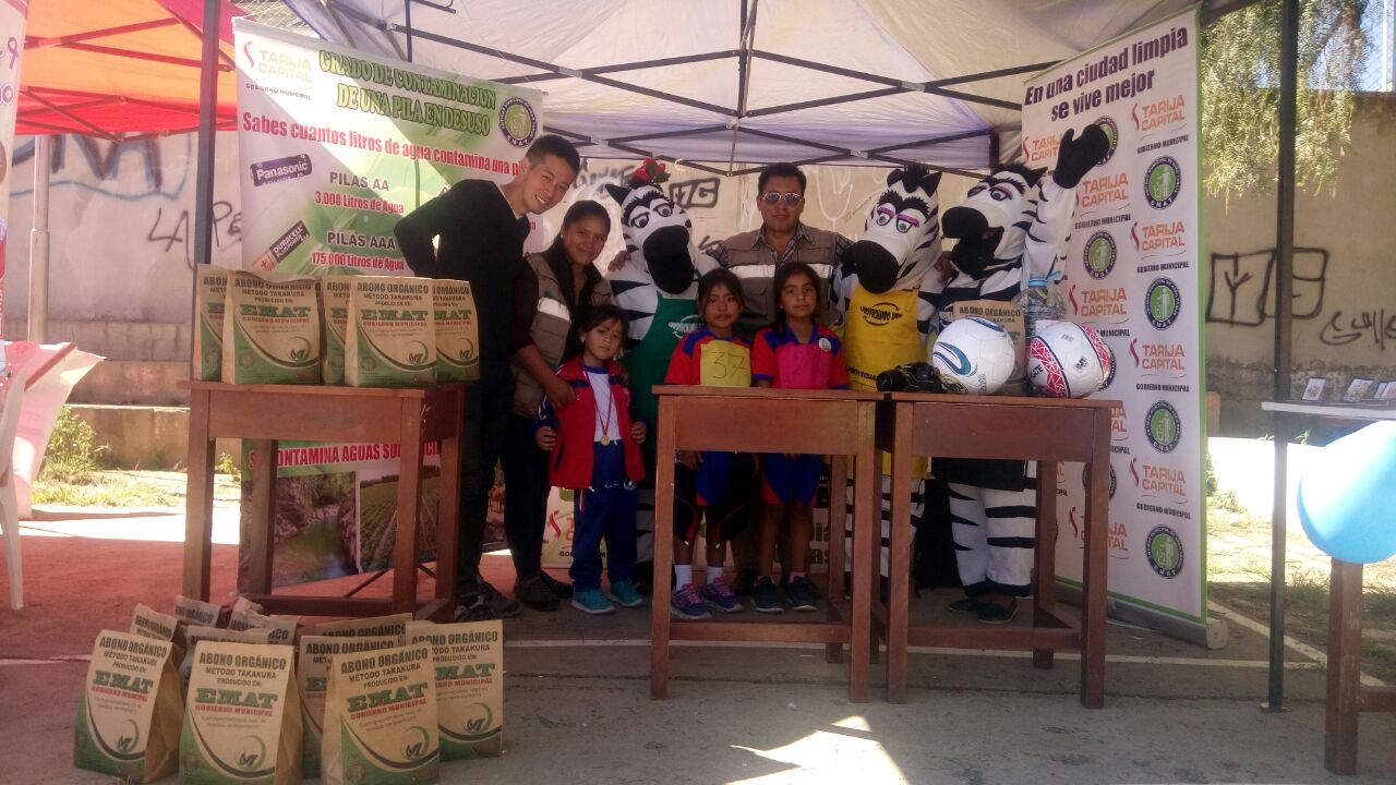 EMAT visita la unidad educativa San Jorge y trabajan en el cuidado de la salud y medio ambiente