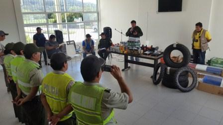 EPI de Caraparí recibe equipamiento e insumos