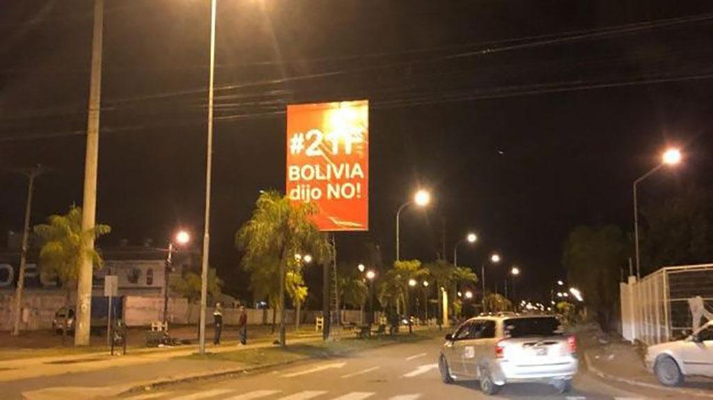 García Linera sobre Bolivia dijo No: No nos van a espantar que unos caballeritos griten