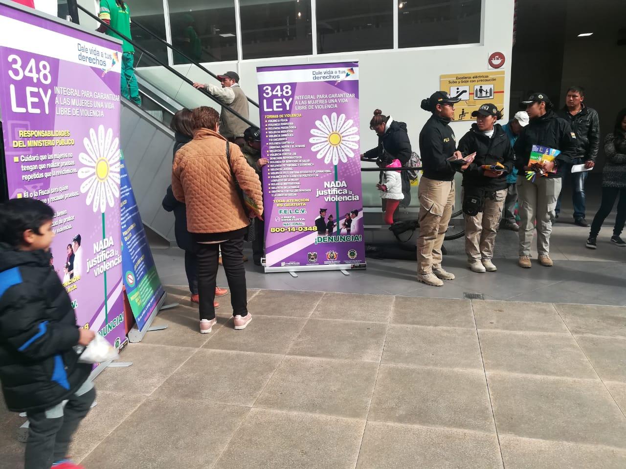 Policía socializa Ley para una vida libre de violencia hacia la mujer