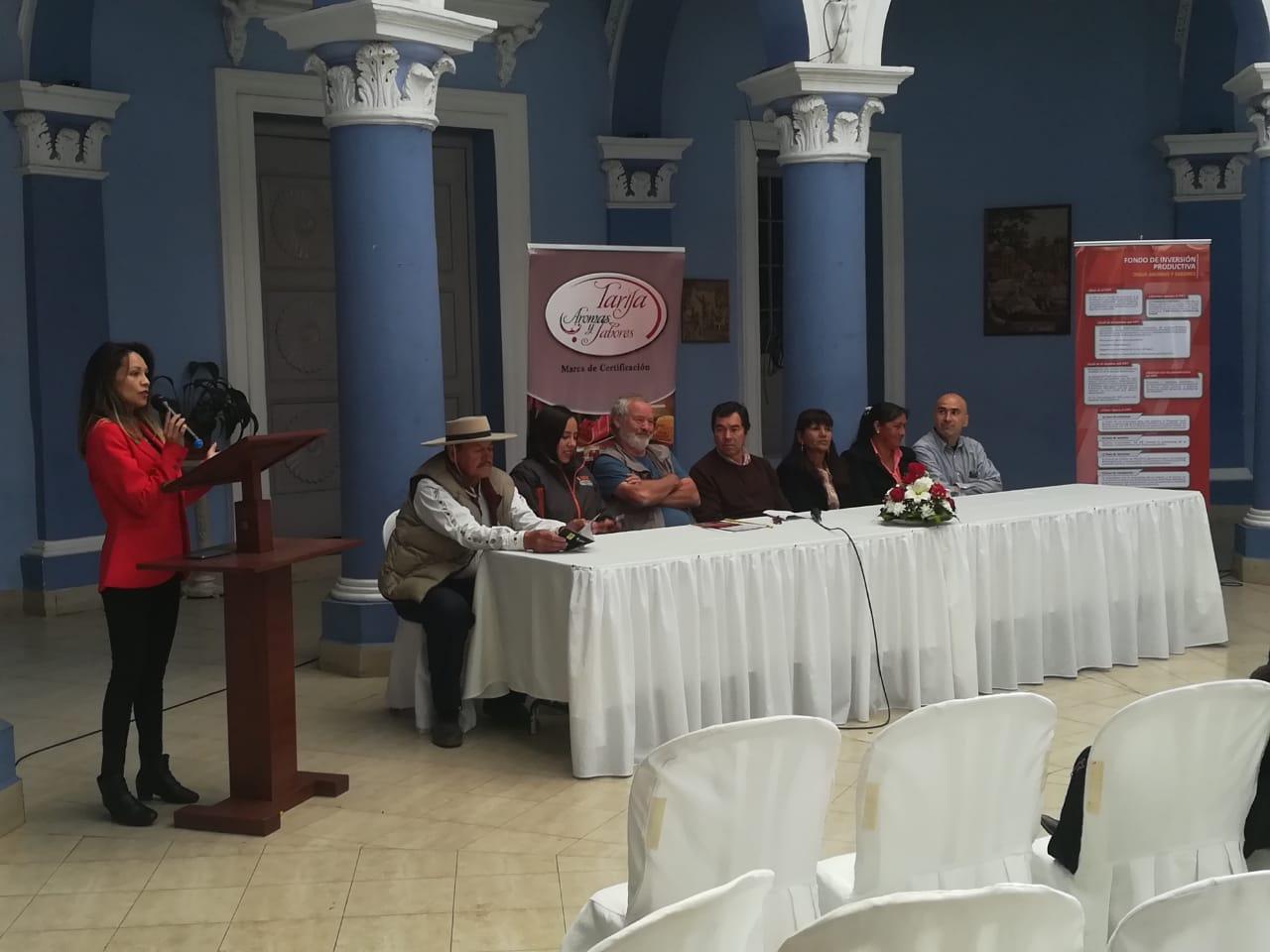 Fautapo certificó a 41 productores de Tarija