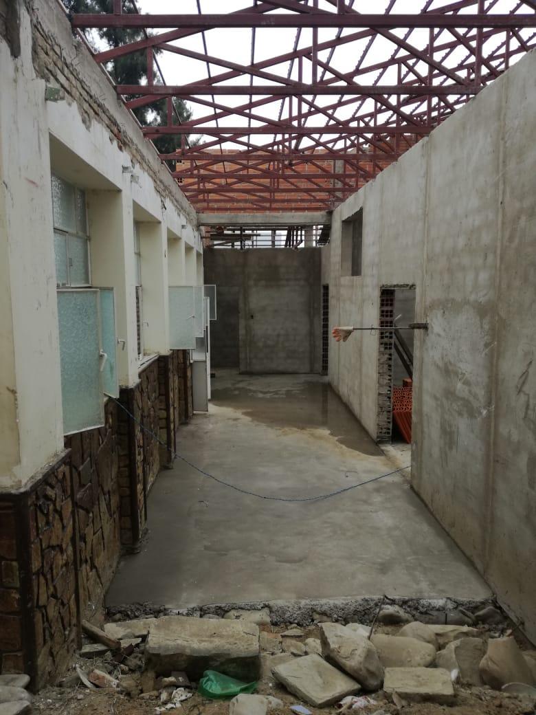 Centro de hemodiálisis del San Juan de Dios tiene un 30% de avance