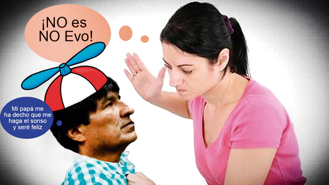"""HuEvo: """"Bolivia es como la mujer cuando dice No es Sí"""""""