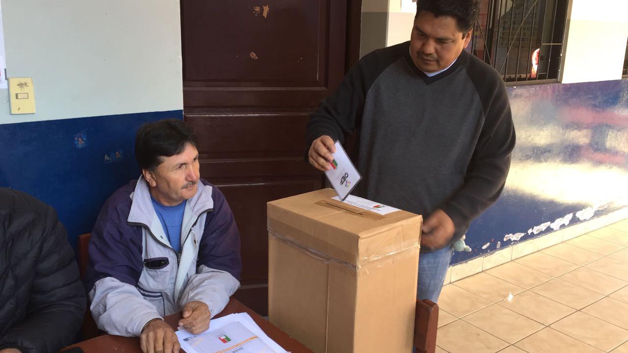 Inicia con normalidad jornada electoral en Yacuiba