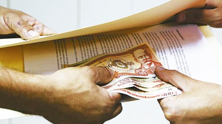 Percepción de corrupción: Bolivia en el puesto 112 de 180