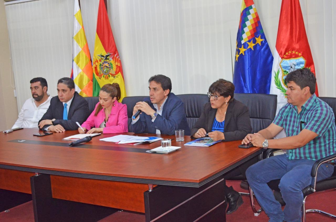 Firman fideicomiso adicional de Bs. 60 millones para Tarija