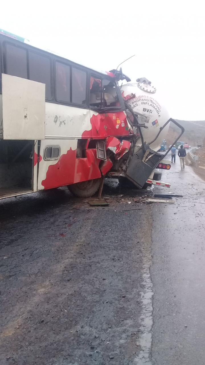 Reportan un accidente en Abra del Cóndor, hay heridos