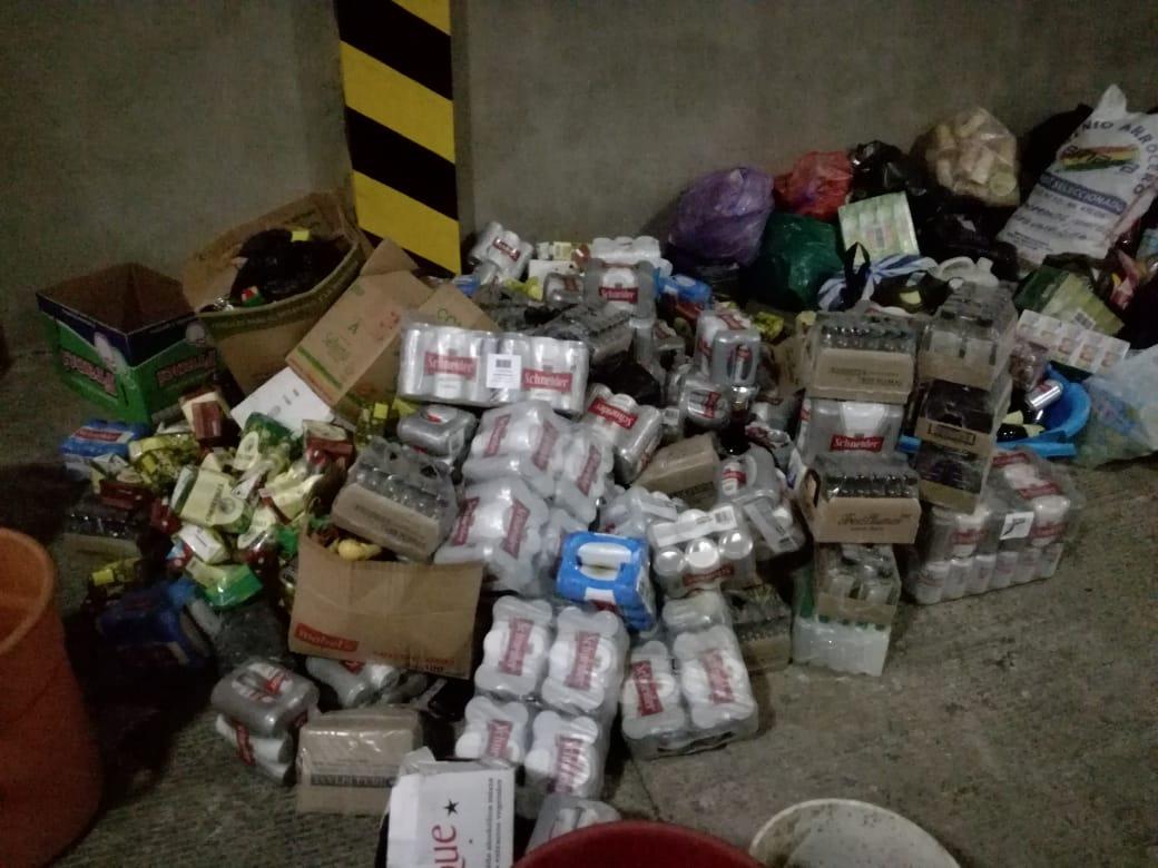 Destruyen productos decomisados por la Intendencia
