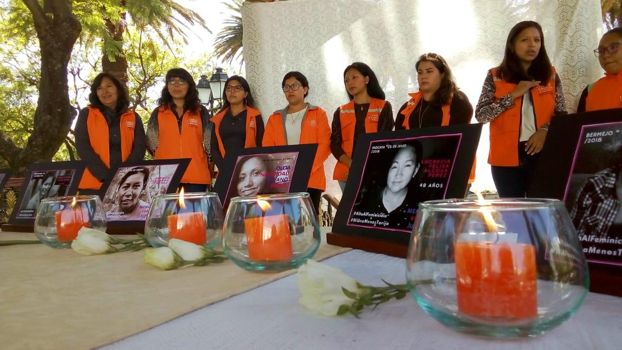 (FOTOS) Los rostros de las víctimas de feminicidio en Tarija