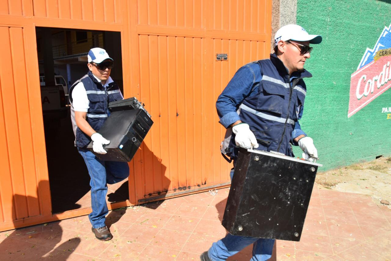 La ATT secuestra 18 equipos de radioemisoras ilegales en dos ciudades