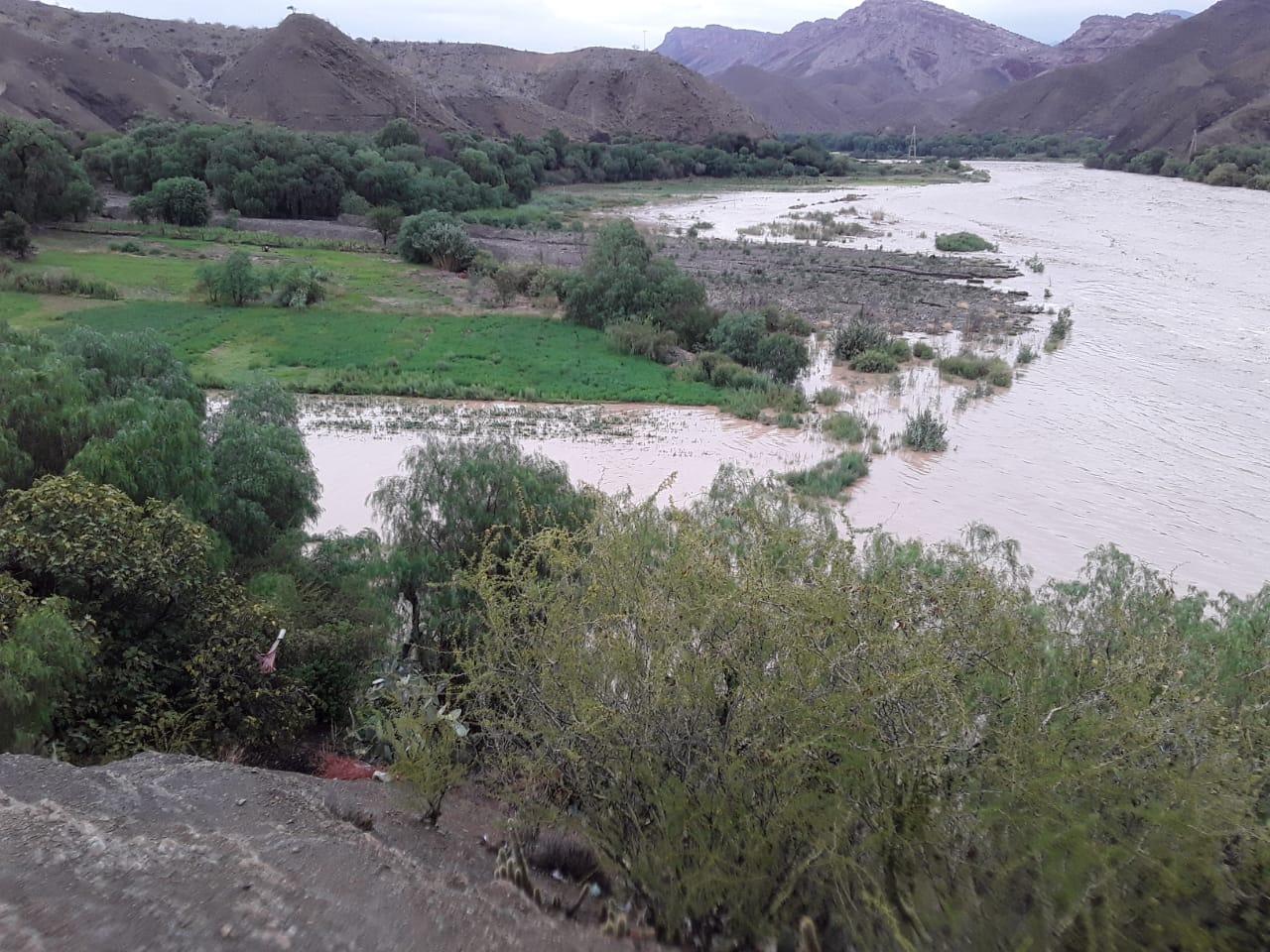 Reportan desborde del río San Juan del Oro (VIDEO)