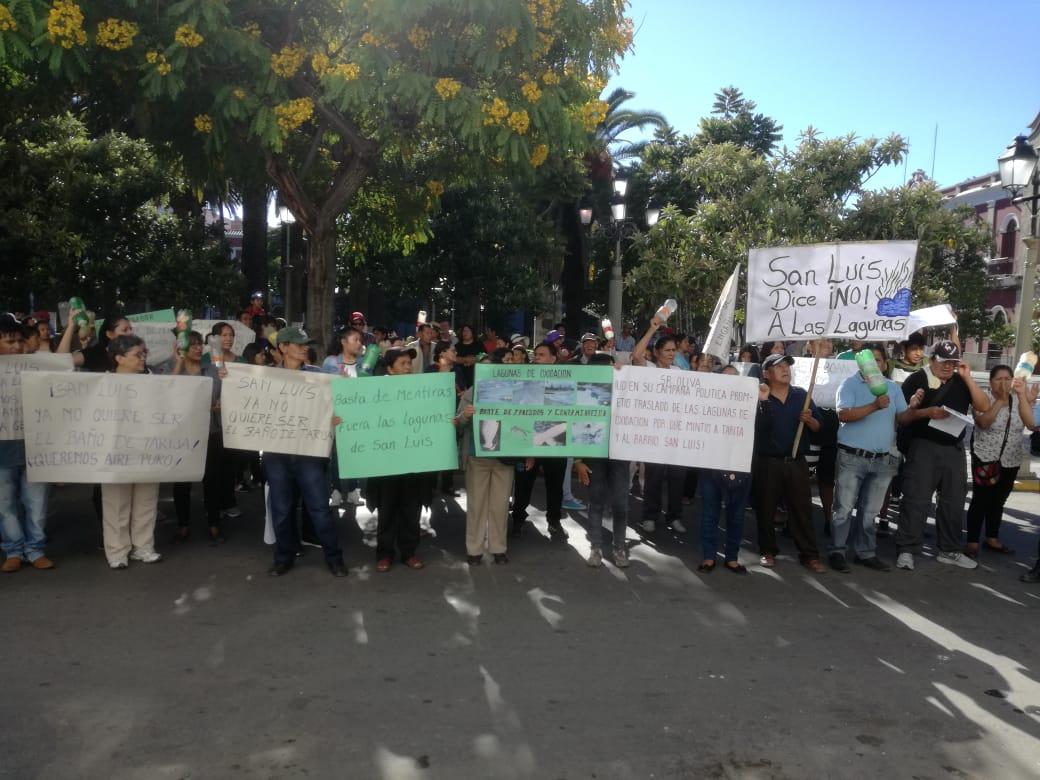 Vecinos del barrio San Luis dan 48 horas a la Gobernación para dar a conocer proyecto de Mitigación de Olores