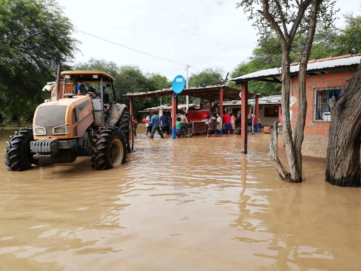 Senamhi declara alerta roja y naranja en siete departamentos por posibles desbordes de ríos
