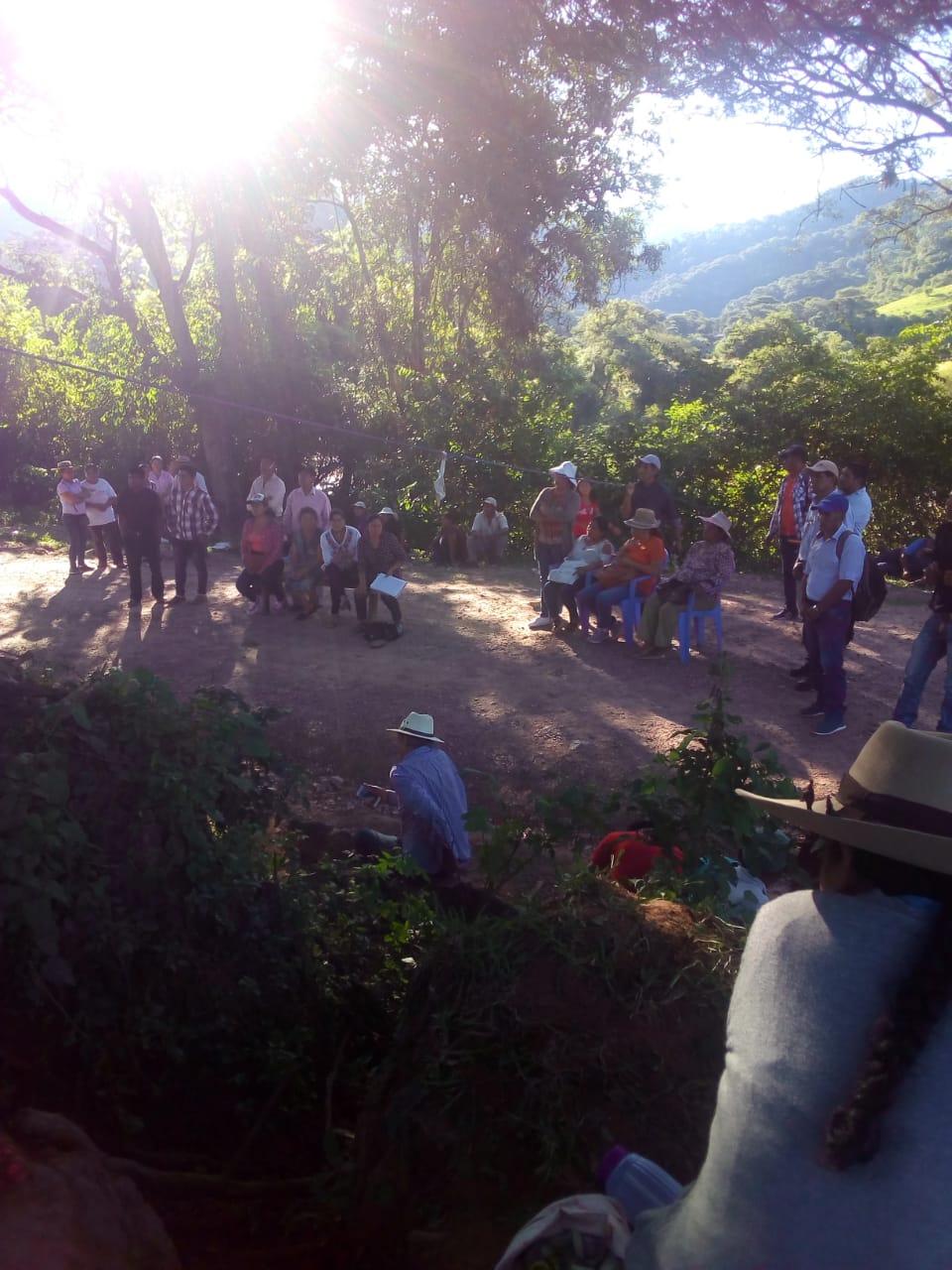 Comunarios de Tariquía logranhacer retroceder a Petrobras