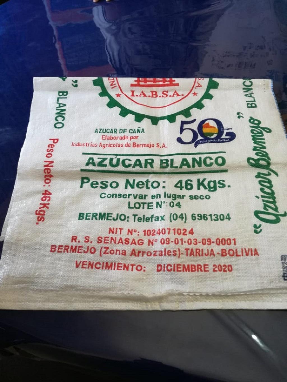 Venta de azúcar mezclado y con peso adulterado prolifera en los mercados de Tarija