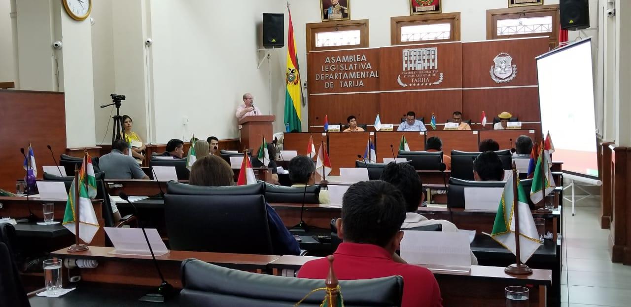 Adrián Oliva rinde su informe correspondiente a la gestión 2018