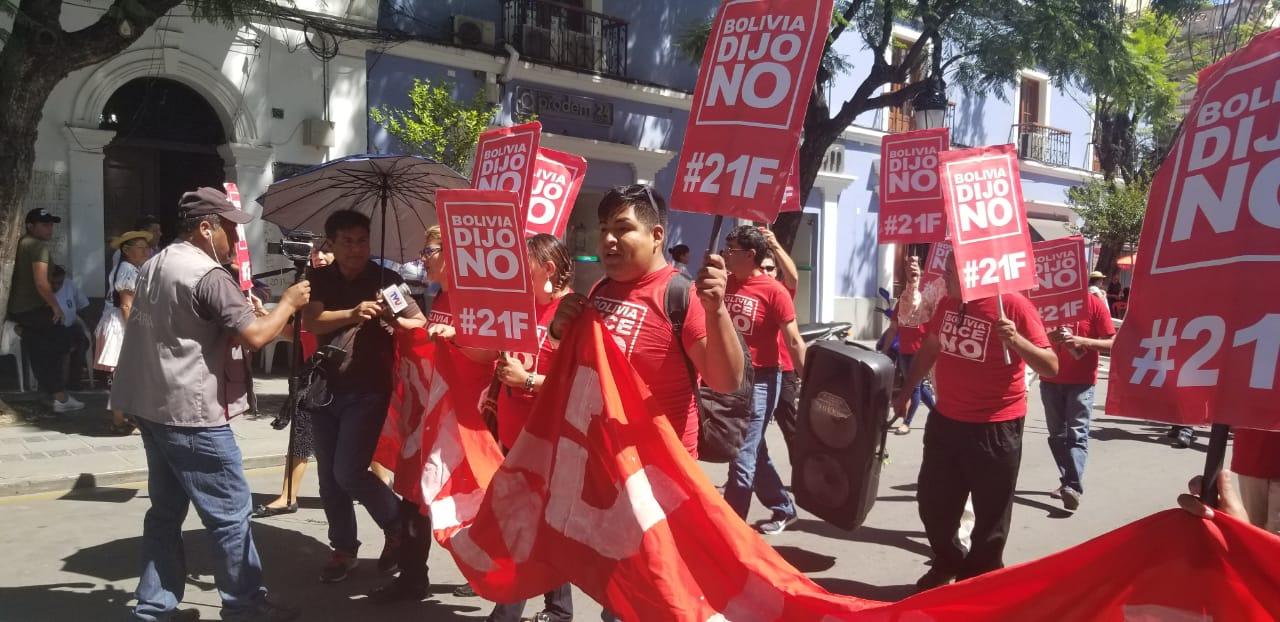 21F y compadres se expresan hoy en Tarija