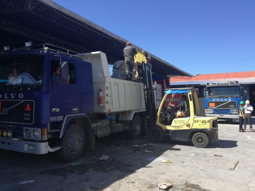 Aduana destruirá 16 toneladas de productos decomisados