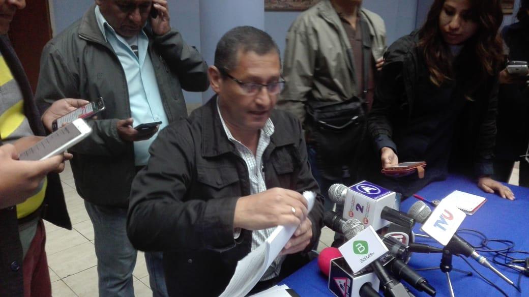 """Montes: """"No voy a dar un paso atrás en la política, aunque haya persecución judicial por parte de Rodrigo Paz"""""""