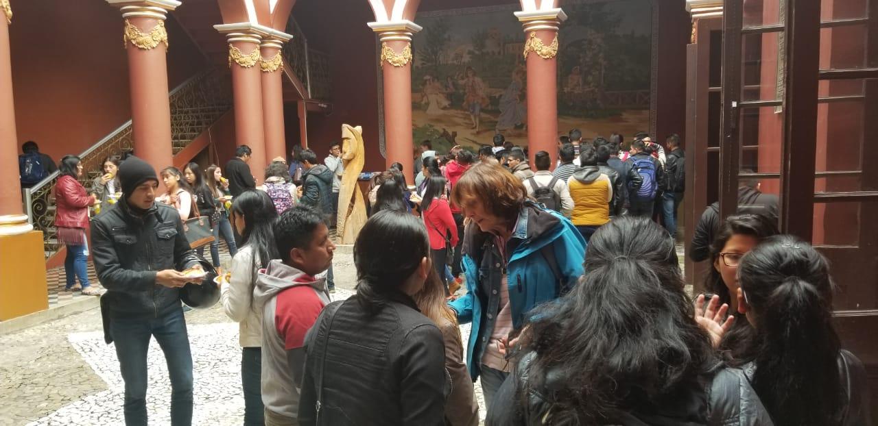 """Gareca: """"Venimos a exponer nuestra lucha"""" en Conversatorio sobre actividad hidrocarburífera en Tariquía"""