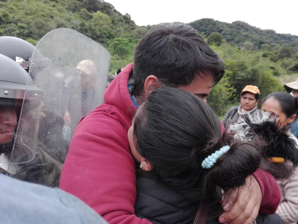 Mujeres, niños y adultos fueron violentados para ingresar a la reserva de Tariquía (Fotos)