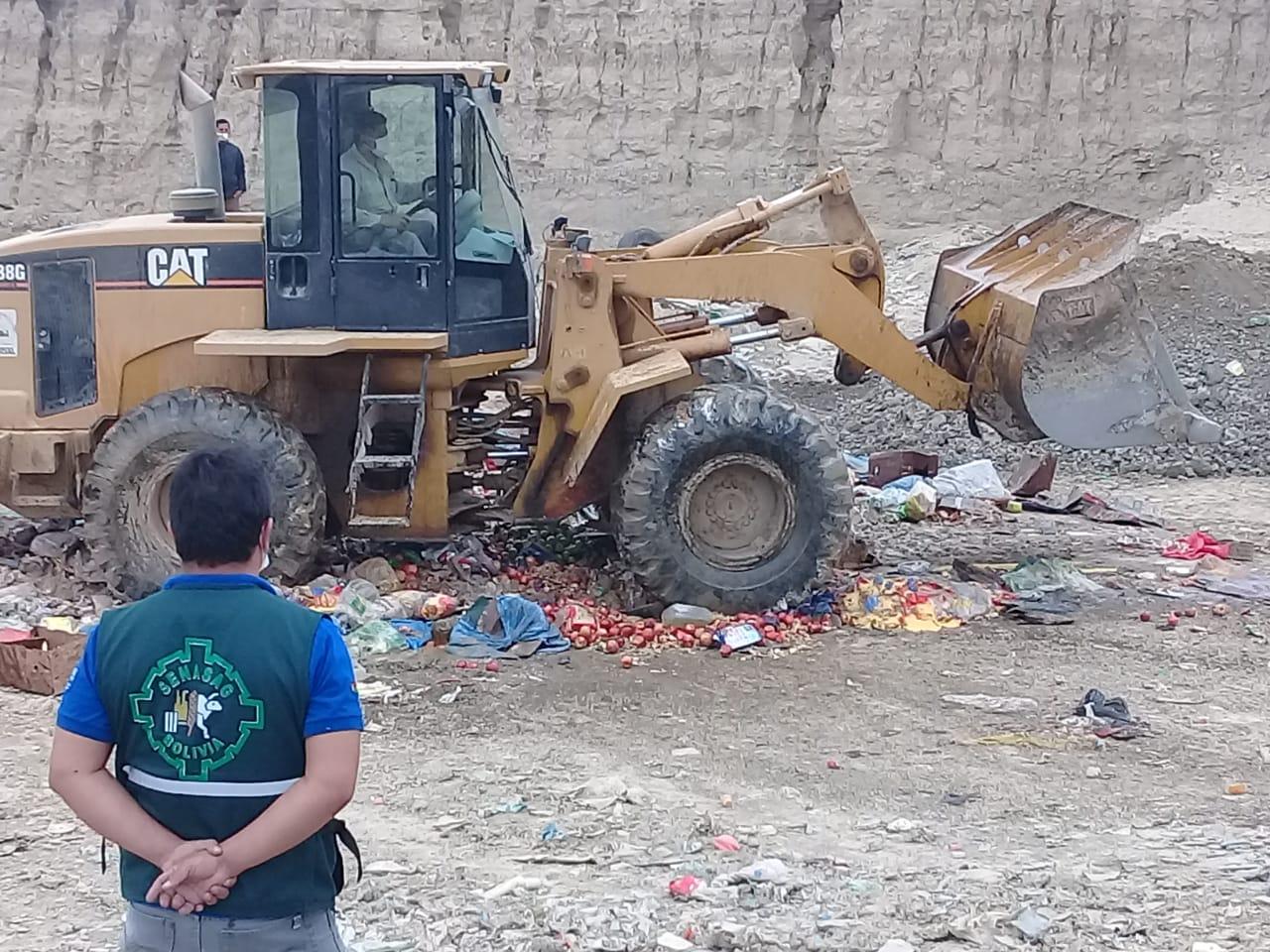 Senasag destruye 4 toneladas de productos decomisados