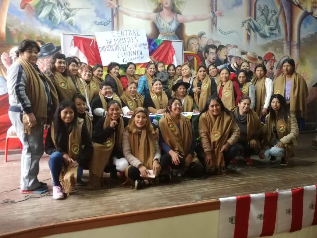 Confederación intercultural de mujeres se reúnen en Tarija