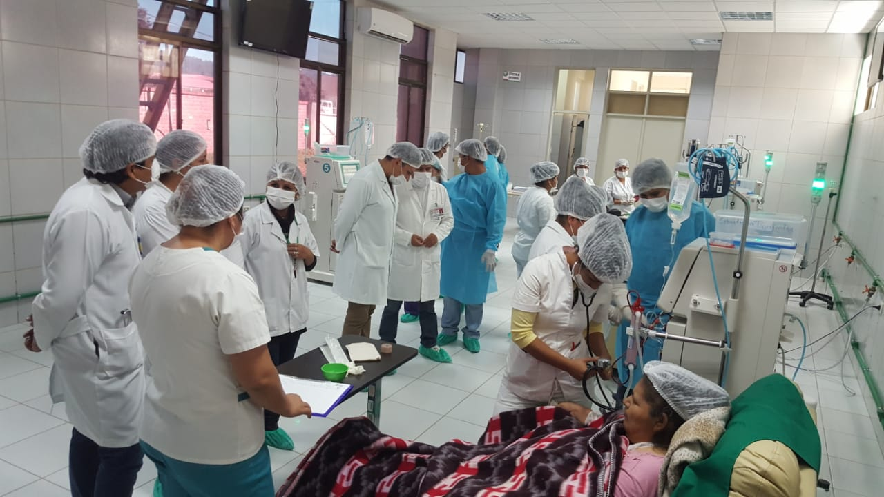 Unidad de hemodiálisis de Bermejo inicia atención este lunes