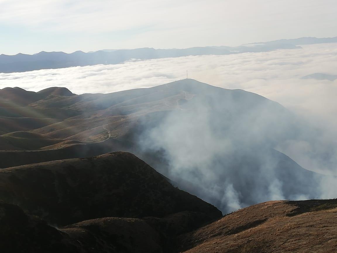 Continúan las labores de sofocación de fuego en Sama, se requiere vituallas