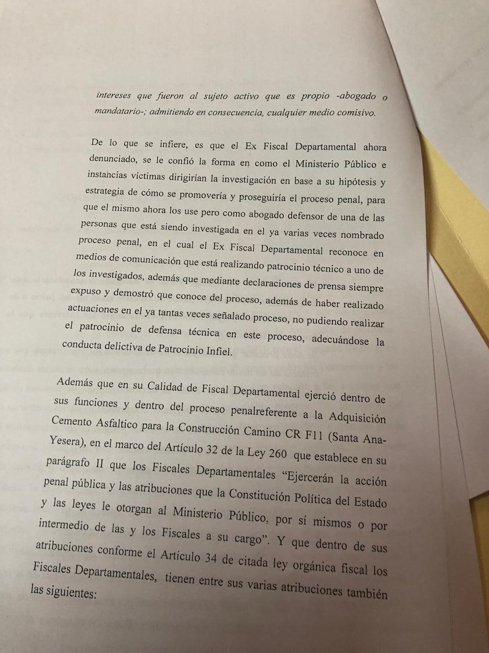 """Denuncian al exfiscal departamental de Tarija, Gilbert Muñoz, por """"patrocinio infiel"""""""