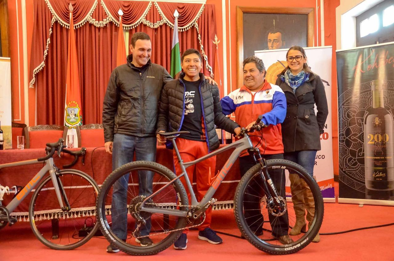 Martín Cerón asistirá a un Mundial de Ciclismo