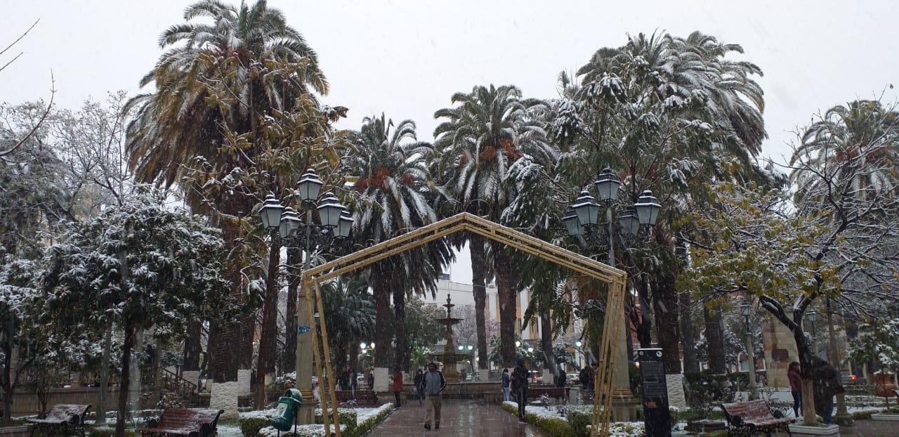 Tarija registró  la nevada más  intensa de los  últimos 65 años
