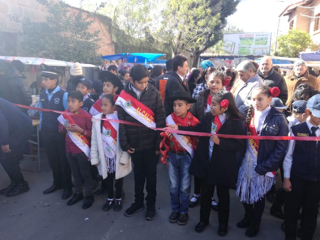 Inicia la fiesta de los niños, Santa Anita, en la calle ancha de Tarija