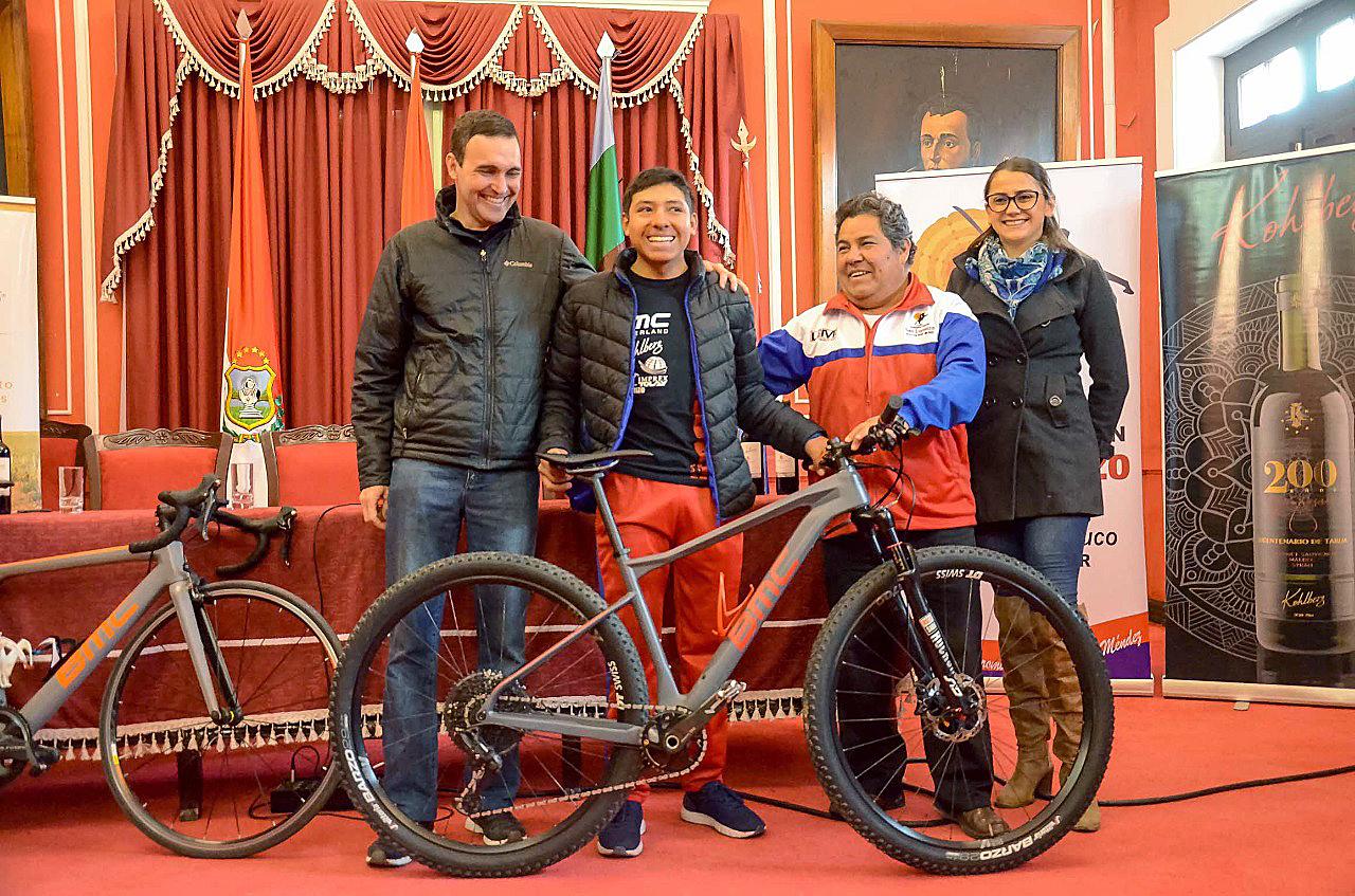 Martín Cerón irá a un Mundial de Ciclismo