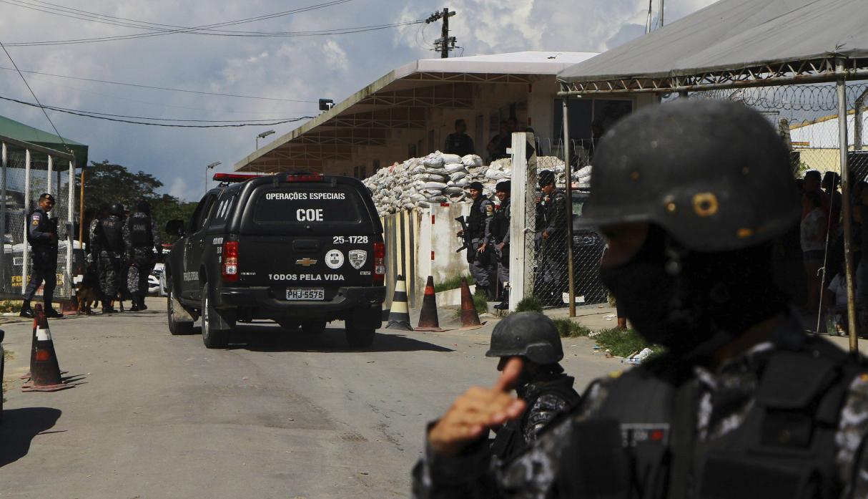 Enfrentamientos en cárcel de Brasil dejan 52 muertos, 16 de ellos decapitados