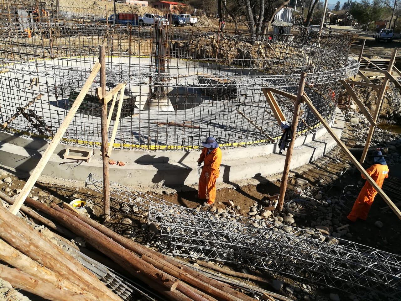 Construcción de planta de tratamiento San Blas reporta 15% de avance físico