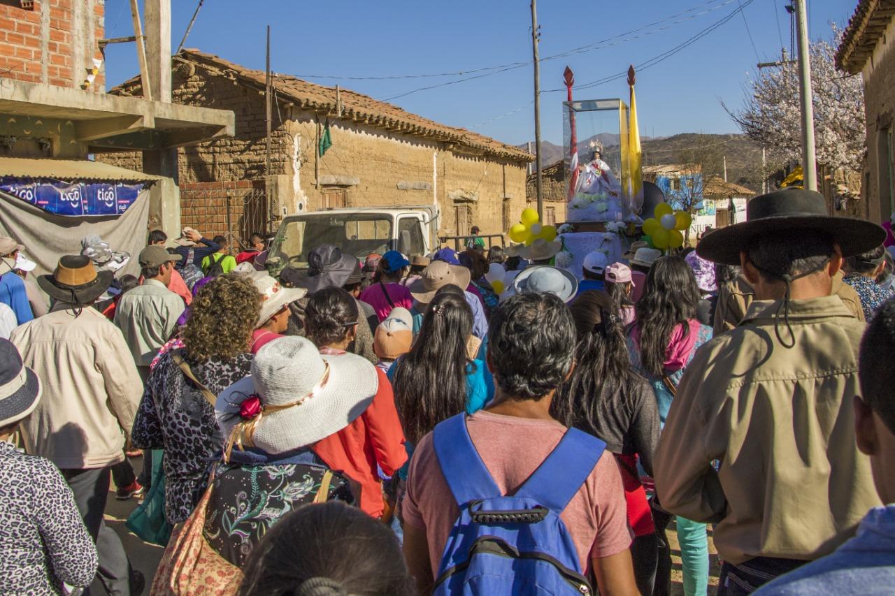 Lanzamiento de la fiesta religiosa de Chaguaya será el 13 de agosto en Tarija