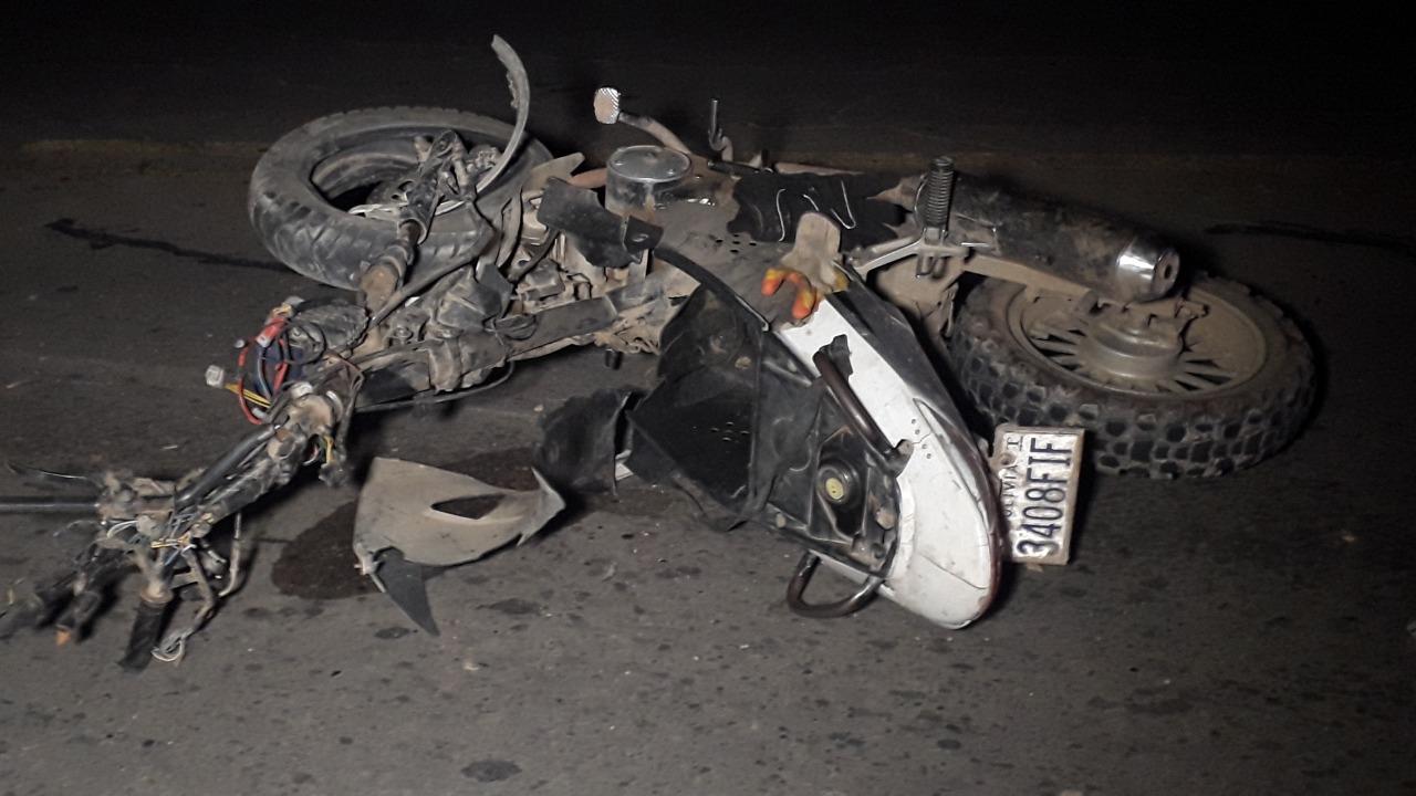 Atropellan a motociclista y se dan a la fuga en Bermejo-Tarija