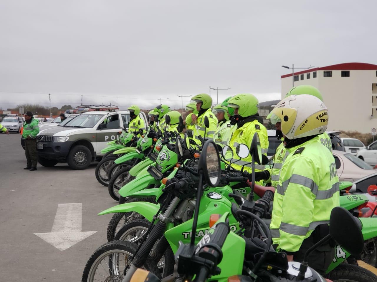 """Policía inicia """"Plan de Seguridad Tecnológica"""" en terminal y carreteras de Tarija"""