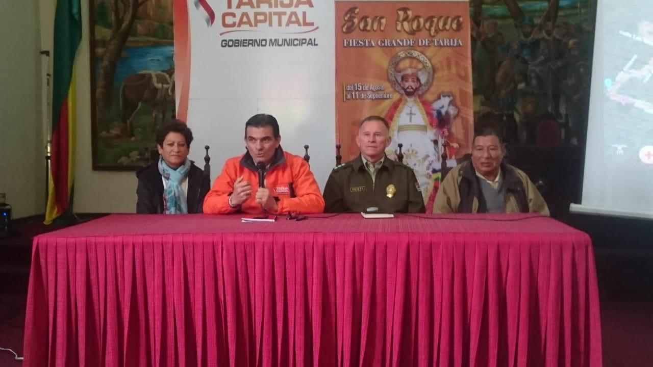 Plan de seguridad para fiesta de San Roque incluirá cámaras, luces led y mayor personal