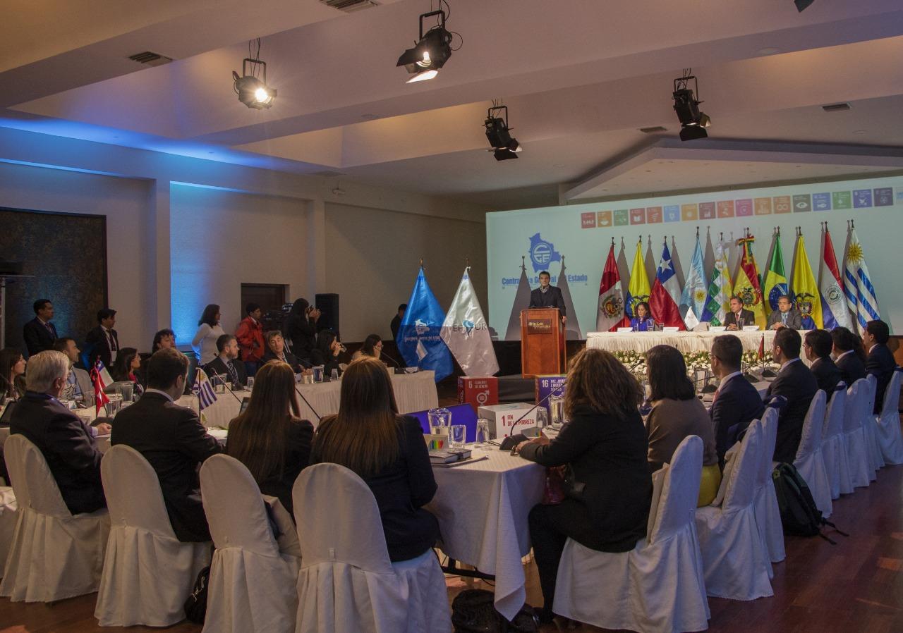 Tarija es sede de la reunión anual de representantes de contralorías del Mercosur