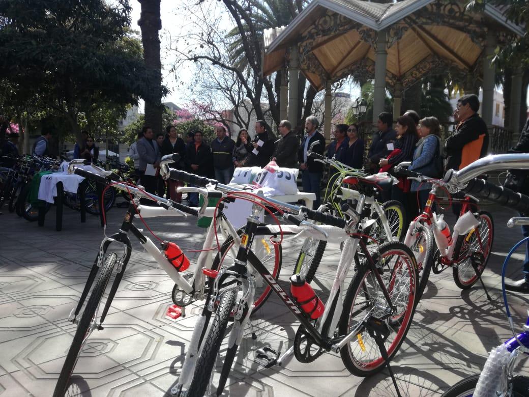 Gobernación de Tarija otorga 70 bicis para ganadores de la doble San Roque-Chaguaya