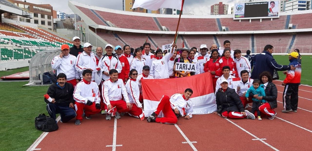 Tarija segundo puesto en atletismo máster
