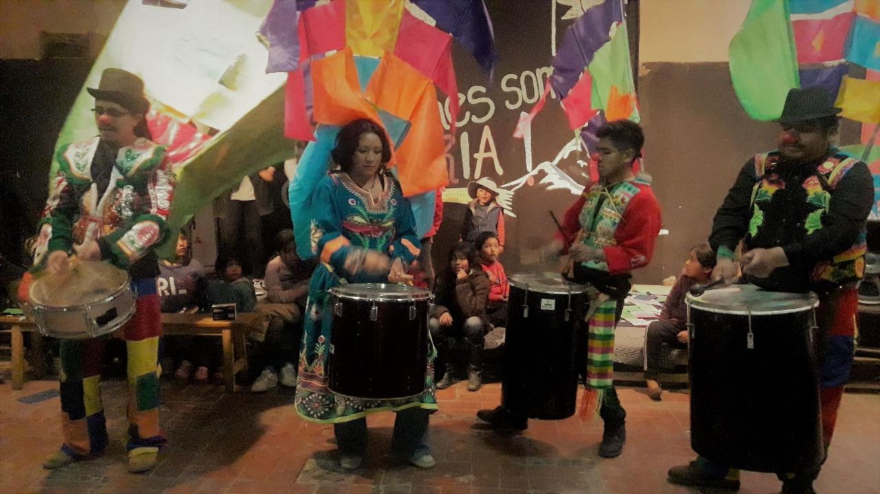 Cultura Viva Comunitaria tiene cita en la comunidad San Andrés de Tarija