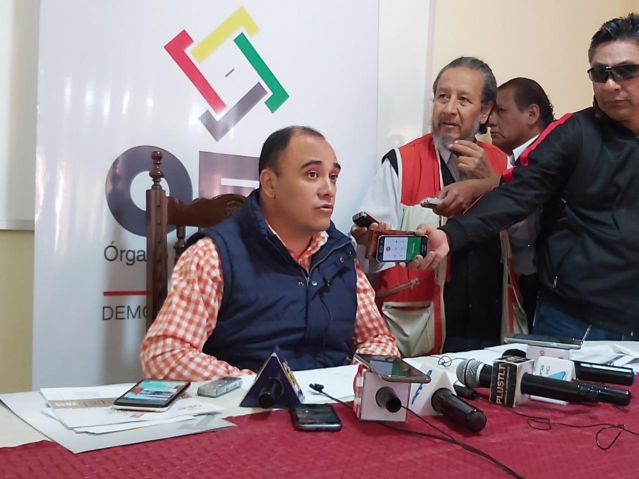 Tarija ocupa el quinto lugar del padrón electoral a nivel nacional