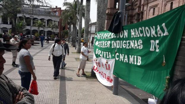 Marcha por la Chiquitanía llega hoy a San Rafael y mujeres indígenas instalan vigilia en Santa Cruz