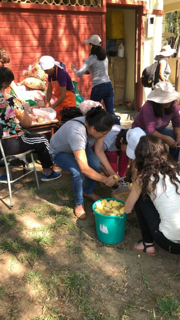 "Municipio prepara ""olla común"" para población de Cercado-Tarija"